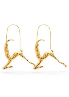 Givenchy Capricorn zodiac hoop earrings