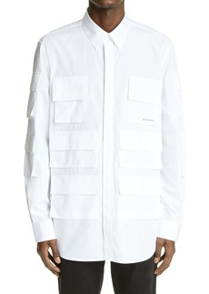 Givenchy Casual Fit Button-Up Shirt