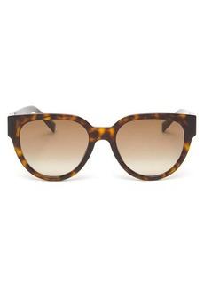 Givenchy Cat-eye tortoiseshell-acetate sunglasses