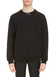Givenchy Chain Detail Cotton Sweatshirt