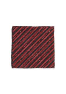 Givenchy Chain-jacquard silk-faille pocket square