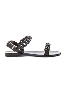 Givenchy Chain Jelly Sandals