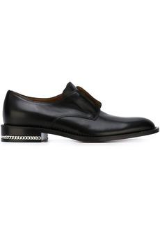 Givenchy chain trim brogues - Black