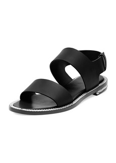 Givenchy Chain-Wrapped Two-Band Sandal