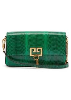 Givenchy Charm ayers snakeskin shoulder bag