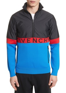 Givenchy Colorblock Pullover Track Jacket
