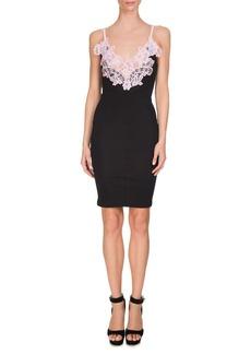 Givenchy Contrast-Lace Slip Dress