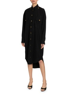 Givenchy Cotton Button-Down Shirtdress