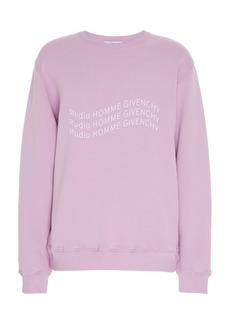 Givenchy Cotton Logo Sweatshirt