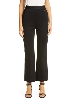 Givenchy Crop Flare Leg Milano Knit Pants
