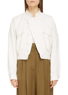 Givenchy Crop Flight Jacket