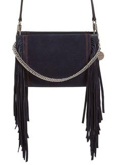 Givenchy Cross 3 Fringe Leather Crossbody Bag