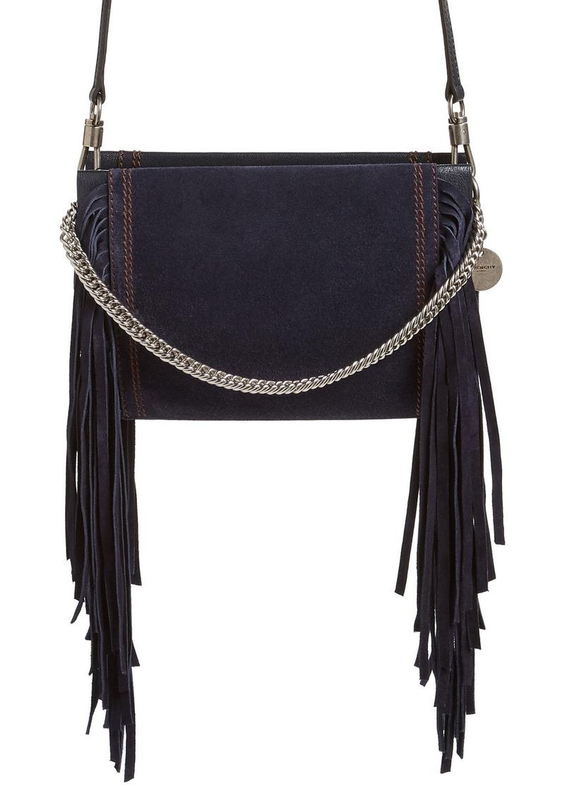 Givenchy Givenchy Cross 3 Fringe Leather Crossbody Bag  58349bf6955c8