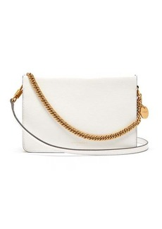 Givenchy Cross3 leather and suede cross-body bag