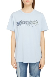 Givenchy Crystal Degradé Logo T-Shirt