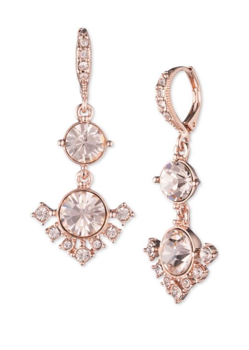 b4d62724b7eea Crystal Double Drop Earrings