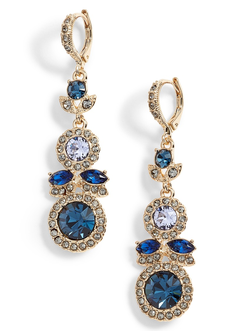 Givenchy givenchy crystal drop earrings jewelry shop for Jewelry sale online shopping