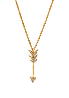 Givenchy Crystal-embellished arrow necklace