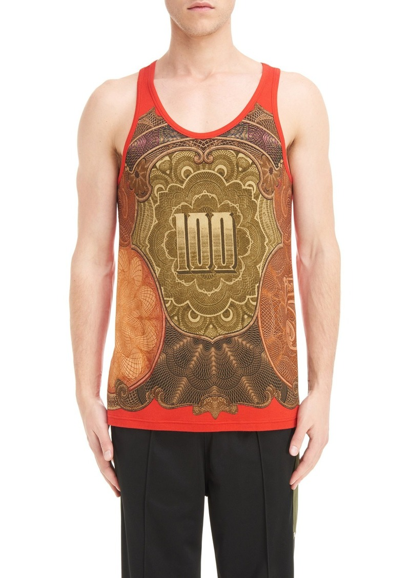 1e34e7928c688 Givenchy Givenchy Currency Print Tank Top