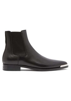 Givenchy Dallas metal-toe leather Chelsea boots