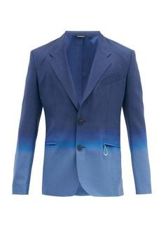 Givenchy Dip-dyed wool-twill blazer