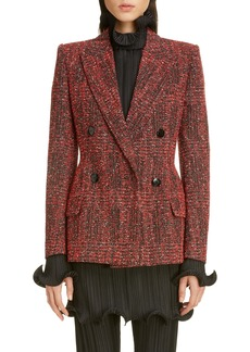 Givenchy Double Breasted Tweed Jacket