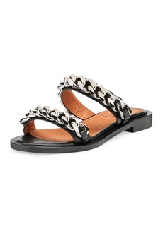 Givenchy Double-Chain Flat Sandal