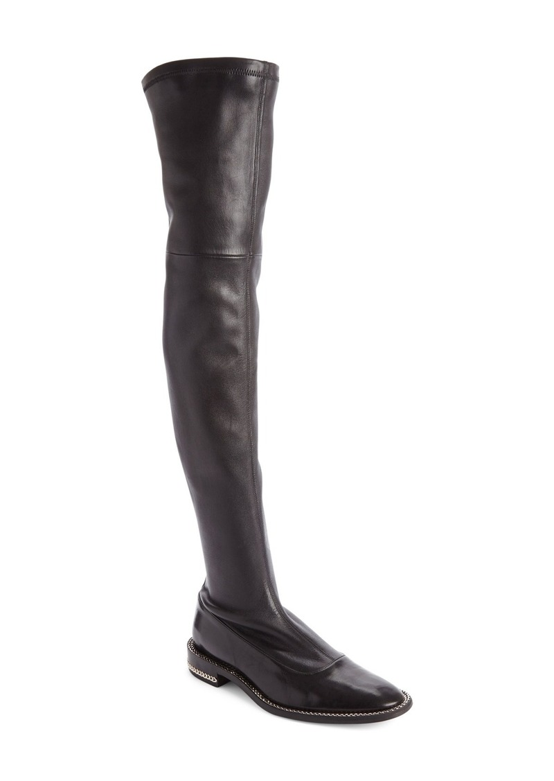 Givenchy Double Chain Over the Knee Boot (Women)