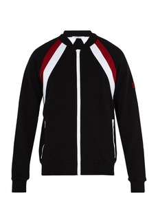 Givenchy Double-stripe cotton track top