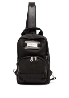 Givenchy Downtown logo-patch cross-body backpack
