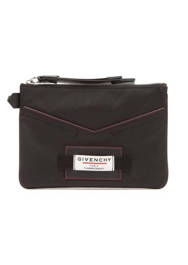 Givenchy Downtown nylon pouch