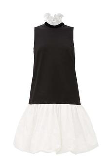 Givenchy Drop-waisted bubble-hem dress