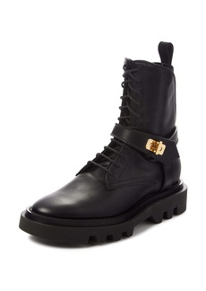 Givenchy Eden Lock Combat Boot (Women)