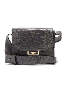 Givenchy Eden small crocodile-effect leather shoulder bag