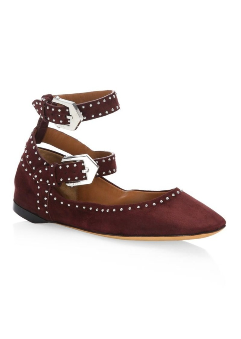 Givenchy Suede Studded Flats clearance cost discount recommend clearance new styles 4ul9OUX