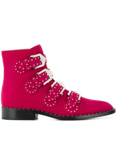 Givenchy Elegant studded boots - Pink & Purple