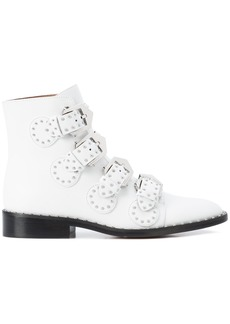 Givenchy Elegant Studs ankle boots - White