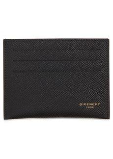 Givenchy Eros Calfskin Leather Card Holder