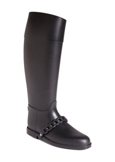 Givenchy 'Eva Chain' Tall Rain Boot (Women)