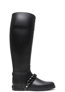 Givenchy Eva Rain PVC Boots with Chain Detail