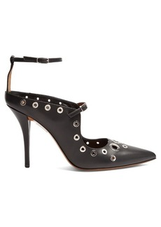Givenchy Eyelet leather pumps