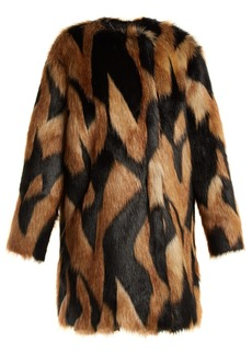Givenchy Faux-fur coat