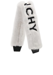 Givenchy Faux Fur Logo Bag Strap