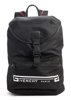 Givenchy Flame Strap Logo Backpack