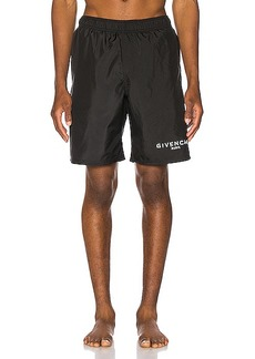 Givenchy Flat Classic Swim Bermuda Short