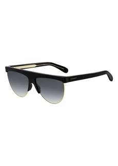 Givenchy Flattop Gradient Shield Sunglasses