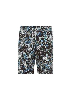 Givenchy Floral-print cotton shorts