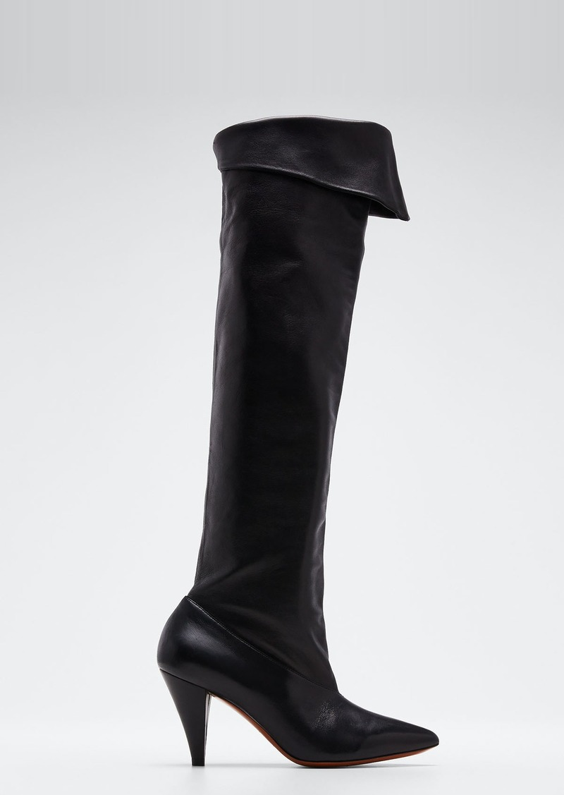 Givenchy Fold-Down Over-The-Knee Boots