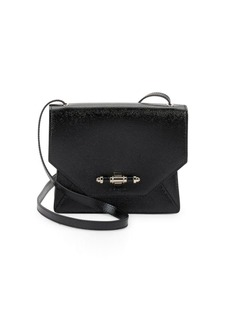 Givenchy Fold-Over Leather Crossbody Bag