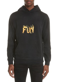 Givenchy Fun Print Graphic Hoodie